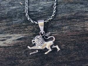 Anhänger Silber Löwe