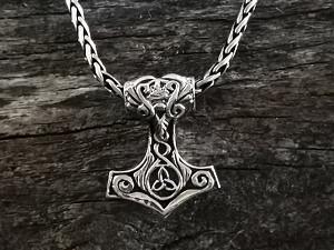 Anhänger Silber Thor Hammer