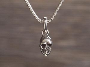 Anhänger Silber Totenkopf