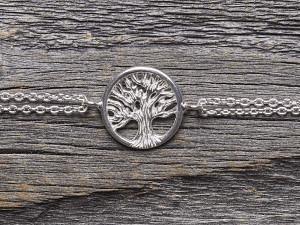 Armkette Silber Lebensbaum