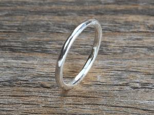 Silber Ring Pneu fein