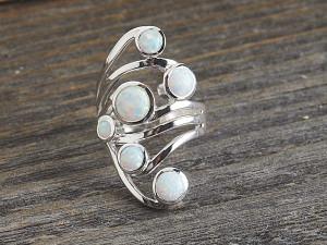 Opal Ring Fächer Design